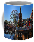 Disney California Adventure Christmas Coffee Mug