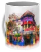 Disney Clothiers Main Street Disneyland Photo Art 01 Coffee Mug