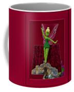 Disney Floral Tinker Bell 02 Coffee Mug by Thomas Woolworth