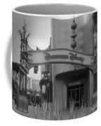 Disneyland Downtown Disney Signage 03 Bw Coffee Mug