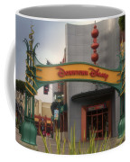 Disneyland Downtown Disney Signage 03 Coffee Mug