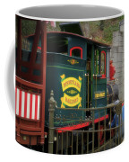 Disneyland Rr Oiling Green Engine 3 Coffee Mug