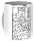 Dissection Lesson, 1493 Coffee Mug