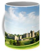 Distant Alnwick Castle Coffee Mug