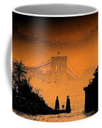 Distant Bridge Coffee Mug