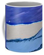 Distant Sailboat Coffee Mug