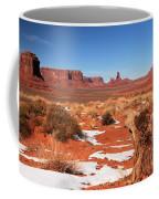 Distant Towers Coffee Mug