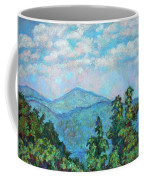 Distant View Of Peaks Of Otter Coffee Mug