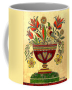 Distelfink With Flowers Coffee Mug