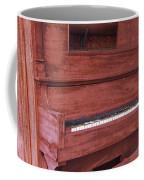 Distorted Upright Piano Coffee Mug