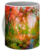 Distortions Of Autumn Coffee Mug