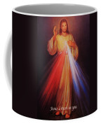 Divine Mercy Big File Coffee Mug