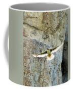 Diving Falcon Coffee Mug