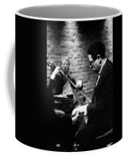 Dizzy On Piano Coffee Mug