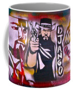 Django Blood Red Coffee Mug