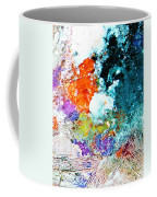Djinn Blows ... Dove Floating In The Wind Coffee Mug