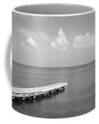 Dock, Mobile Bay Alabama, Usa Coffee Mug