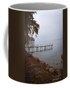 Dock On A Lake In Autumn Coffee Mug