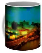 Dock On The East River - New York Coffee Mug