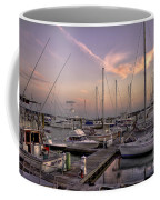 Dockside Sunset In Beaufort South Carolina Coffee Mug by Reid Callaway