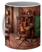Doctor - Desk - The Physician's Office  Coffee Mug by Mike Savad