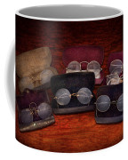 Doctor - Optometrist - Array Of Opticals Coffee Mug by Mike Savad