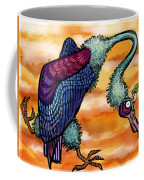 Doctor Vultura Coffee Mug by Kelly Jade King