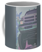 Dodge Ram With Decreased Color Value Coffee Mug