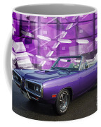 Dodge Rt Purple Abstract Background Coffee Mug