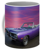 Dodge Rt Purple Sunset Coffee Mug
