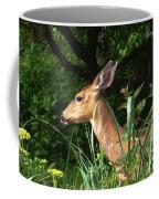 Doe In Tall Grass Coffee Mug