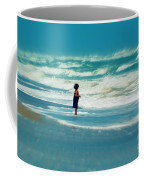 Does The Ocean Ever Stops Coffee Mug