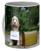 Dog And Suitcase Coffee Mug