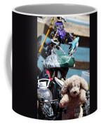 Dog Bike Coffee Mug