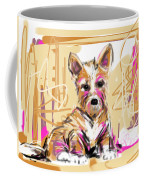 dog I did not make this mess Coffee Mug