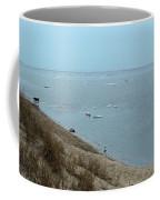 Dog In Icy Water Coffee Mug