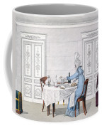 Dog Mania, Plate 106 From Le Bon Genre Coffee Mug