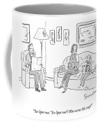 Dog Sitting On Couch Reading A Book Coffee Mug