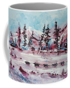 Dog Sled Coffee Mug