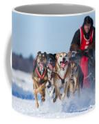 Dog Sledding Race Coffee Mug