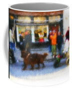 Dog Sleigh Ride Coffee Mug