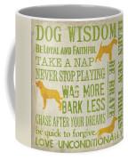 Dog Wisdom Coffee Mug