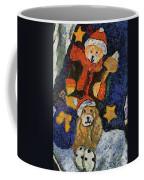 Doggie Xmas Stocking 03 Photo Art Coffee Mug