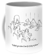 Dogs At A Meeting Coffee Mug