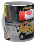 Dog's Life In Canada Coffee Mug