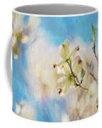 Dogwood Against Blue Sky Coffee Mug