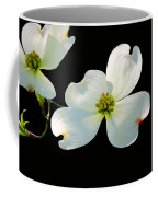 Dogwood Blossoms Painted For Jerry Coffee Mug