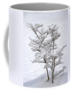 Dogwood In Snow Coffee Mug