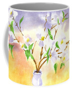 Dogwood In Watercolor Coffee Mug