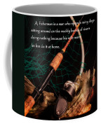 Doing Nothing Coffee Mug by Bill Wakeley